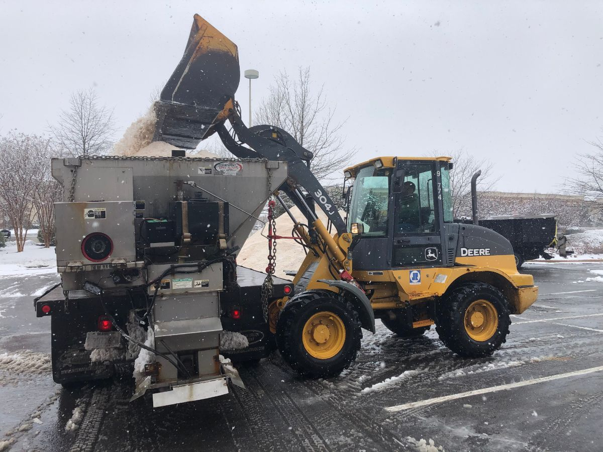 KTE On the Job:  Snow Removal (Feb 2021)